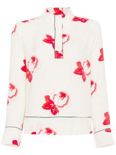 блузка Harley с цветочным принтом Ganni
