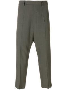 укороченные классические брюки  Rick Owens