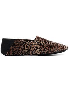 jacks leopard print loafers Newbark