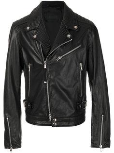классическая байкерская куртка Diesel Black Gold