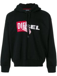 branded hoodie Diesel