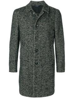 пальто на пуговицах Delloglio