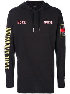 More Noise hoodie Diesel