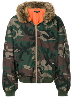 куртка-бомбер Season 5 с капюшоном Yeezy