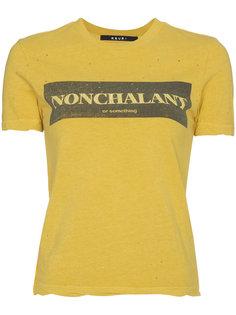 футболка Nonchalant Ksubi