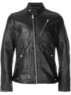 asymmetric zipped jacket G-Star