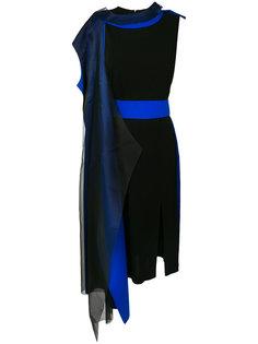 платье с контрастными деталями Maison Margiela