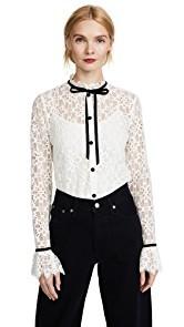 Temperley London Eclipse Lace Shirt