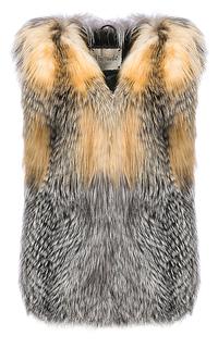 Жилет из меха лисы Virtuale Fur Collection