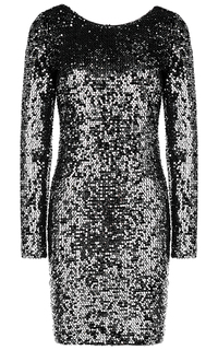 Текстильное платье La Reine Blanche