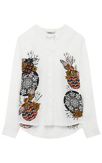 Текстильная блузка с принтом Desigual