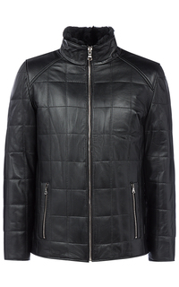 Кожаная куртка с подкладкой из овчины Jorg Weber