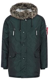 Текстильная куртка на синтепоне Alpha Industries