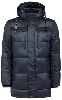 Стеганая куртка на искусственном пуху с капюшоном Urban Fashion for men