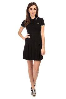 Платье женское Fred Perry Pleated Pique Tennis Dress Black