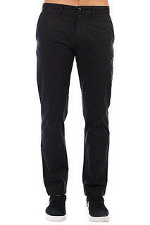 Штаны прямые Carhartt WIP Johnson Pant Black