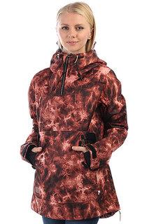 Анорак сноубордический женский DC Skyline Burnt Henna Tie Dye