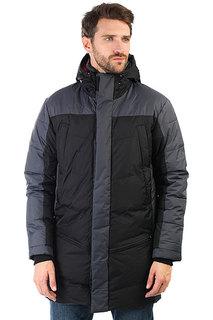 Куртка парка Запорожец Telogreika Black/Gray