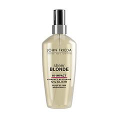 JOHN FRIEDA Масло-эликсир для восстановления сильно поврежденных волос Sheer Blonde HI-IMPACT 100 мл
