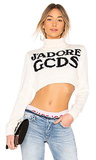 Укороченный свитер jadore - GCDS