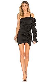 Платье с одним рукавом rhapsody dress - MAJORELLE