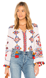 Блуза с вышивкой maylee - MISA Los Angeles
