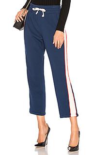 Свободные брюки the stripe slim gym - MOTHER