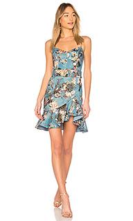 Мини платье arielle floral - NICHOLAS