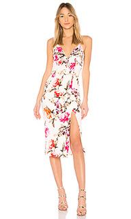 Платье миди lucile floral - NICHOLAS