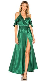 Макси-платье с запахом acme - Privacy Please