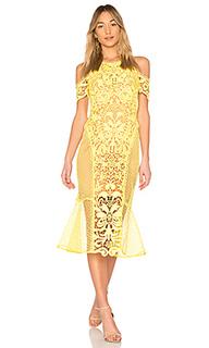 Платье миди enchanted garden - THURLEY