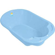Детская ванночка Little Angel Дельфин, голубая