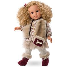 Классическая кукла Llorens Елена в кофте и юбке, 35 см