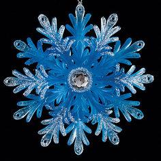 Украшение Снежинка прекрасная 12,5  см Erich Krause