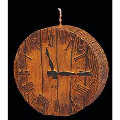 Свеча Часики деревянные 9 см Erich Krause