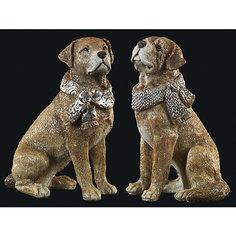 Сувенир Собака в шарфе 15 см Erich Krause