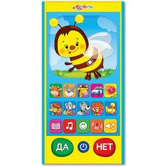 Игровой смартфончик Азбукварик Пчелка Умняша