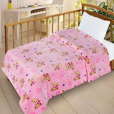 Плед Letto Велсофт-беби в кроватку VB16, 95х130 см.