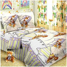 Детское постельное белье 1,5 сп Letto Собаки спят