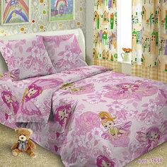 Детское постельное белье 1,5 сп Letto Софи