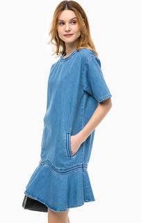 Джинсовое платье с короткими рукавами Paul & Joe Sister