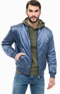 Синяя демисезонная куртка Calvin Klein Jeans