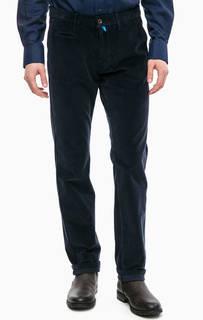 Синие вельветовые брюки Pierre Cardin