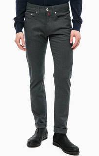 Зауженные серые брюки Pierre Cardin