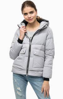 Короткая утепленная куртка с капюшоном Superdry
