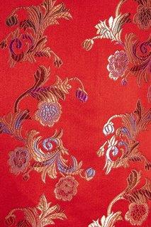 Красное атласное платье Vintage No Names