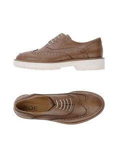 Обувь на шнурках KÖE