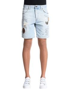 Джинсовые шорты Just Cavalli