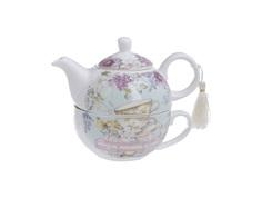 """Чайник с чашкой в подарочной упаковке """"Arthur"""" To4rooms"""