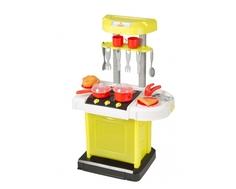 Игровой набор HTI Smart «Портативная кухня» в чемоданчике + 15 аксессуаров
